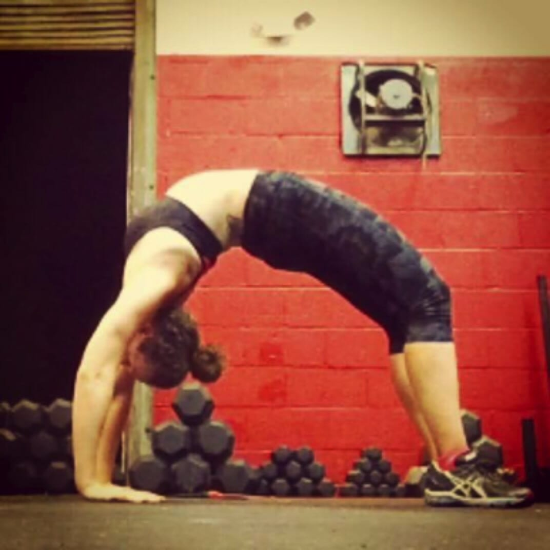 October 2014 - Straighter Arms, More Push In The Legs And NO WALL NEEDED! It's Still A Journey, But I Am So Proud Of This Move!