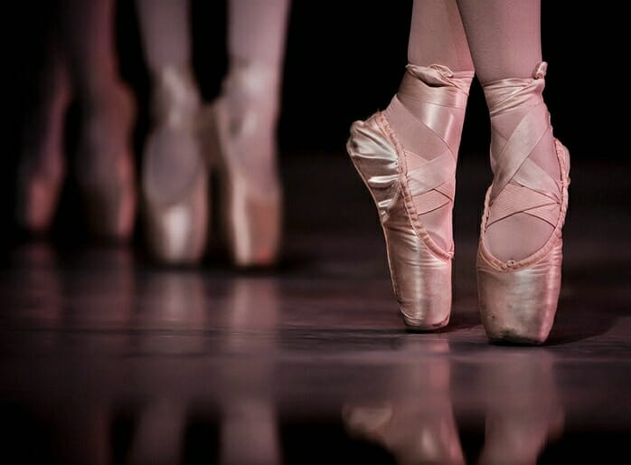 Ballet Dancers Shoes