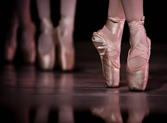 Ballet Dancers Shoes