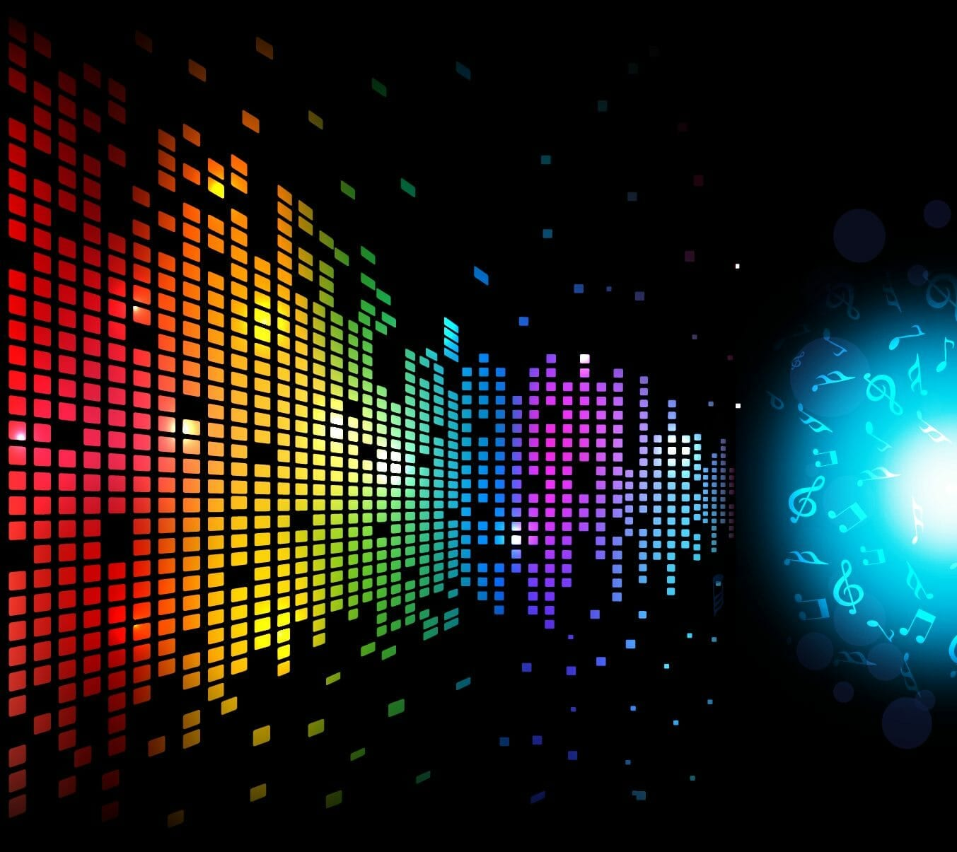 Digital Music Background 01