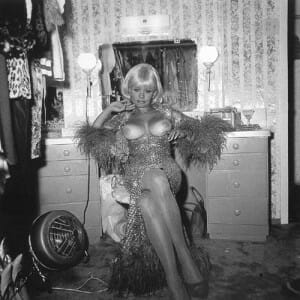 Diane Arbus, Topless Dancer in her Dressing Room San Francisco California, 1968, American