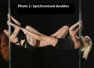 Photo 1: Synchronized Doubles